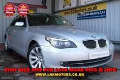 2008 08 BMW 5 SERIES 3.0 525D SE 4d 195 BHP**FREE 12 MONTH NATIONWIDE WARRANTY**