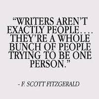 f. scott fitzgerald on writers--YES