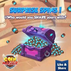 coins master free spin for you to get daily spins and coins for All the time. coin master free spins daily share new links to unlock levels. Free Gift Cards, Free Gifts, Miss You Gifts, Free Rewards, Daily Rewards, Free Gift Card Generator, Coin Master Hack, New Tricks, Slot Machine