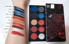 UOMA Beauty Savage Black Magic Palette Swatches Black Owned Makeup Brands, Indie Makeup, Just Pretend, African Culture, Cool Tones, Beauty Industry, Fair Skin, Black Magic