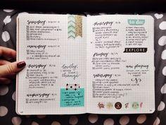 Imagen de organisation, cute, and bullet journal
