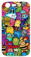 COVER CASE PROTETTIVA CUTE MONSTERS PER WIKO STAIRWAY