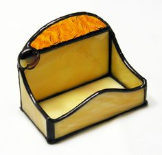 Stained Glass CardHolders / Amber Nugget Arch .jpg
