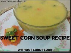 sweet corn soup recipe healthy soup recipes