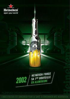 Heineken Forge Beer Advertising Campaign