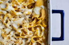 baked pumpkin fettuccine alfredo- tried this and it was such a great fall dinner