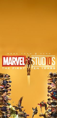 Marvel Studios: 10 Year Phone Wallpapers {Links}