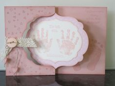 Lucky baby girl - pinned by Colleen Hastings, Independent Stampin' UP! Demonstrator