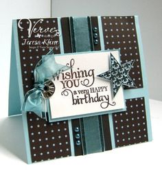 Mojo106 *~*Flourish Star Birthday*~* by va.sunshine - Cards and Paper Crafts at Splitcoaststampers
