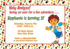 Go Diego Go Invite