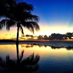 Stunning sunset at Viceroy #Anguilla