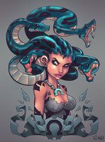 Medusa by *frogbillgo on deviantART