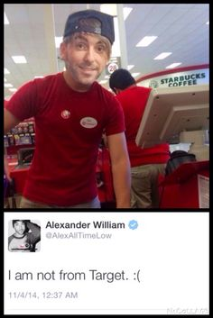 Alex from Target/ Alex from All Time Low