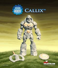 2015 Club 200X Callix figure from Masters of the Universe, only at MattyCollector.com. Subscriptions open thru 3/23/15 #entertainment #toys #geek #skeletor #mattel #retro Collectible Toys, She Ra Princess Of Power, Good And Evil, Hulk, Masters, Action Figures, Sculptures, Alternative, Universe