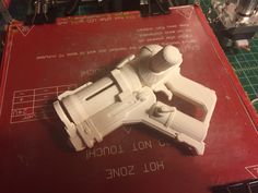 3D print of Mei's pistol from Overwatch