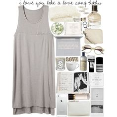 """I Love You Like A Love Song Baby"" by designbecky on Polyvore"