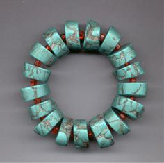 Southwest Surprise Polymer Clay Bracelet | Flickr - Maureen Thomas Designs