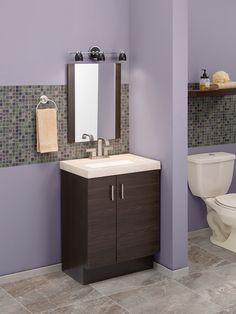Home Depot 💜 Smart Home Design, Home Room Design, House Design, Clinic Interior Design, Bathroom Interior Design, Home Depot Closet, Washbasin Design, Small Space Storage, Small Apartment Decorating