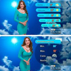 Yanet Garcia Meet The Smoking Hot Mexican Weathergirl Lets Style Monterret, Nu.Laredo