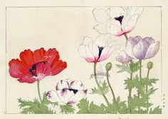 Image result for japanese woodblock prints flowers