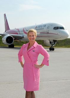 since 2008 flight attendants have work a pink version of bilingual flight attendant jobs