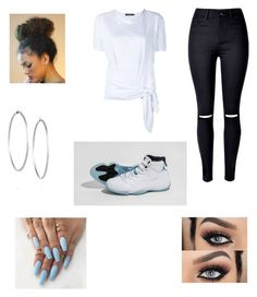 """""""legend blue"""" by ballislife ❤ liked on Polyvore featuring Dolce&Gabbana, Jennifer Fisher and WithChic"""