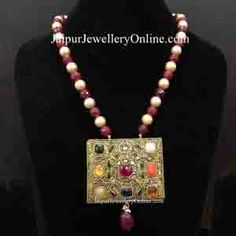 Welcome - Jaipur Polki House Ruby Pendant, Pendant Set, Pendant Jewelry, Diamond Shapes, Diamond Cuts, Bangle Bracelets, Bangles, Body Jewelry Shop, Uncut Diamond