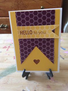 Hello To You, card!