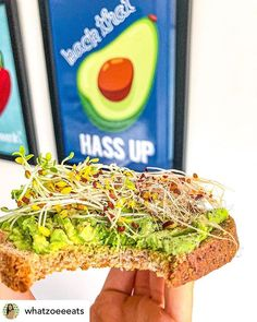What about this  ? @whatzoeeeats Dont forget to check our website! Link in bio    #avocado #food #instafood #healthyfood #foodporn #foodie #healthy #breakfast #brunch #yummy #vegan #homemade #sushi #nutrition #foodphotography #foodblogger #lunch #salad #foodgasm #cleaneating #eggs #weekend #foodstagram #foodlover #veganfood #salat #love #billieeilish #weightloss #plantbased Avocado Food, Avocado Toast, Homemade Sushi, Website Link, Food Photography, Vegan Recipes, Clean Eating, Food Porn, Brunch