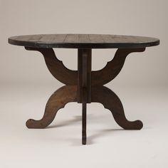 Espresso Romeo Round Dining Table-Espresso Romeo Round Dining Table | World Market  $500