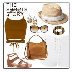 """SUMMER GEAR"" by arjanadesign ❤ liked on Polyvore featuring Topshop, Urban Expressions, Steve Madden, Gap, topshop, SteveMadden, gap and urbanexpressions"