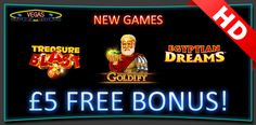 Are you bored with same slots? Try Brand new HD quality slots at Vegas Mobile Casino. Sign up and receive free £5 instantly and get a chance to win Headphones, Sports Watch, extra cash every day https://www.vegasmobilecasino.co.uk/slots/