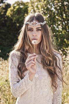 Stunning boho beaded gowns /  Bo & Luca: Bohindi Collection via @The Bridal Detective