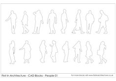 Free download of 150 Human-figure and animal AutoCAD