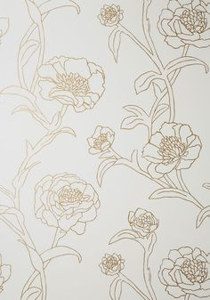 Top Floral Apartment Temporary Wallpaper from ModCloth