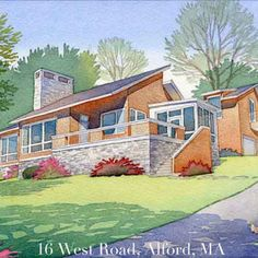 House Portraits: Home in Alford, MA
