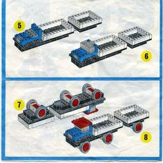 Legoland - Truck with Trailer [Lego 319]