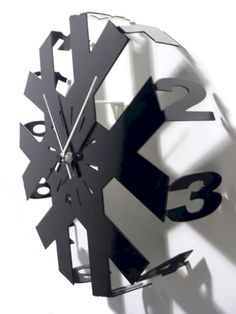 Wall Clocks by Arti and Mestieri. I so want this clock - Wall Clocks by Arti and Mestieri…. I so want this clock - Outdoor Clock, Wall Watch, Wall Clock Design, Clock Wall, Displays, Cool Clocks, Modern Clock, Diy Clock, Clock Ideas