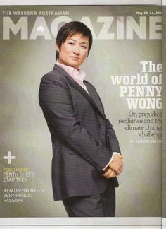 penny wong, like a boss. she pisses me off so much but she has a voice like honey.