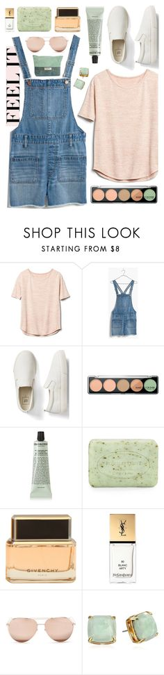 """Untitled #107"" by brittany-phelps ❤ liked on Polyvore featuring Gap, Madewell, MAKE UP FOR EVER, Grown Alchemist, Pré de Provence, Givenchy, Yves Saint Laurent, Linda Farrow and Kate Spade"