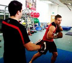 Lukas Podolski está empenhado em retornar o mais rápido possível aos jogos com o Arsenal.