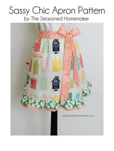 Aprons make great gifts. Try making the Urban Chic Apron Pattern for Mother's Day, Easter, Christmas, or Teacher gifts.