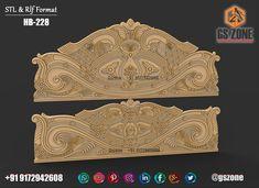 Bed Headboard Design, Bedroom Bed Design, Bedroom Furniture Design, Headboards For Beds, Bed Furniture, Blue Colour Images, Carved Beds, Wooden Art, Columns