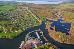 Węgorzewo, Kanał Węgorzewski i Port Mamry Yacht Czarter