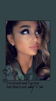 Ariana Grande Bangs, Ariana Grande Lyrics, Ariana Grande Cute, Ariana Grande Pictures, Ariana Grande Wallpaper, What To Draw, Sofia Carson, Bae, Celebrity Wallpapers