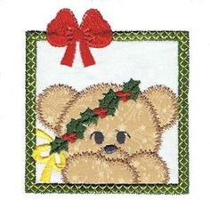Christmas Bears - Free Instant Machine Embroidery Designs