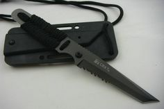 Gotta new survival knife... must say, like the cut of CRKT's jib (pun intended!)