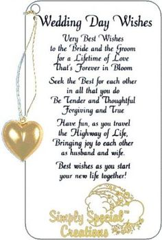 Ideas Wedding Card Sayings Messages The Bride For 2019 # wedding quotes for the bride Ideas Wedding Card Sayings Messages The Bride For 2019 Wedding Wishes Messages, Wedding Day Wishes, Wedding Greetings, Happy Wedding Day, Wedding Anniversary Cards, Message For Wedding, Wedding Congratulations Wishes, Anniversary Poems, Wedding Blessing