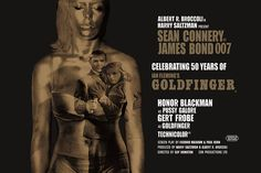 PYRAMID POSTERS POSTER (MAXI) : JAMES BOND GOLDFINGER 50TH ANNIVERSARY