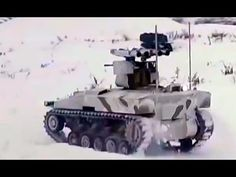 "New Russian Weapons 2017 -  Kalasnikov Autonomus Robot Tank SORATNIK - Russia's Kalashnikov Group has developed an unmanned ground vehicle (UGV) unveiling the system at the Army 2016 defence exhibition in Moscow.  http://www.gdomtv.com/  The BAS-01G BM Soratnik (Companion-in-Arms) has been designated an unmanned combat ground vehicle (UCGV). ""It is an innovative platform developed by the military division of the Kalashnikov Group in accordance with the terms of reference issued by the…"